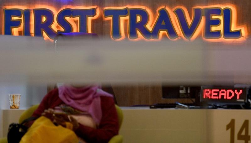Kantor First Travel di Jakarta (Antara)