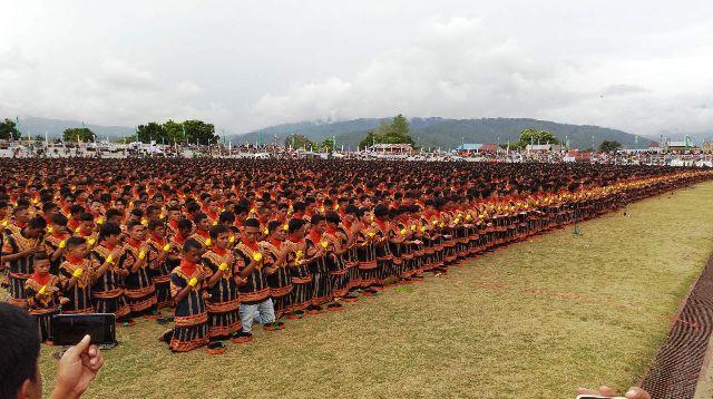 Sebanyak 10.001 penari saman yang bakal mencetak rekor. (Foto: Dok iNews TV Aceh)