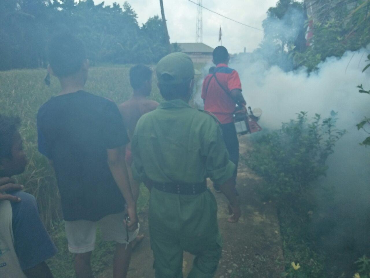 Fogging Perindo di Banyuasin (Mewan/Okezone)