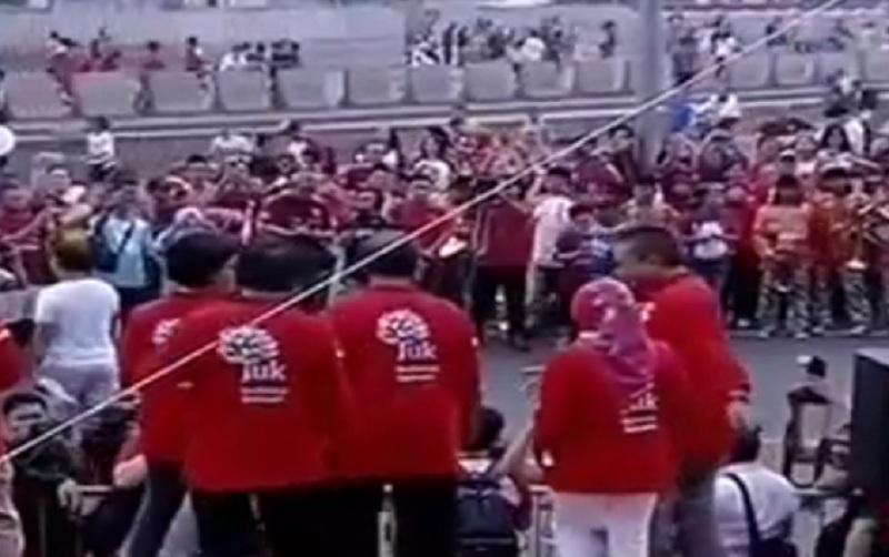 Merah Putih Banjiri Gedung BEI Peringati 40 Tahun Pasar Modal Indonesia