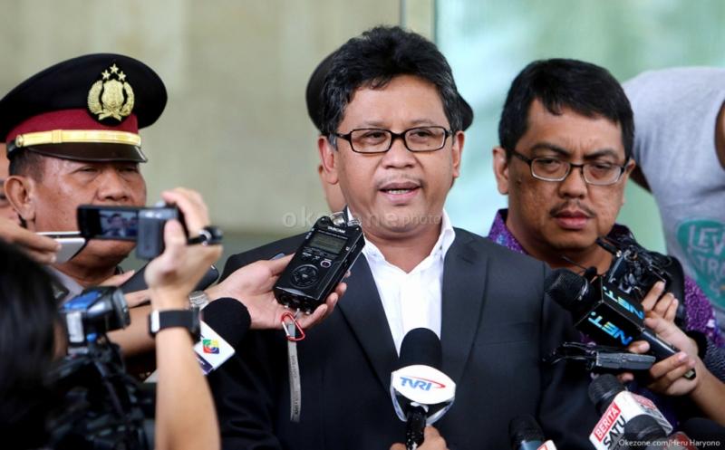 Sekjen PDIP Hasto Kristiyanto (Foto: Okezone)