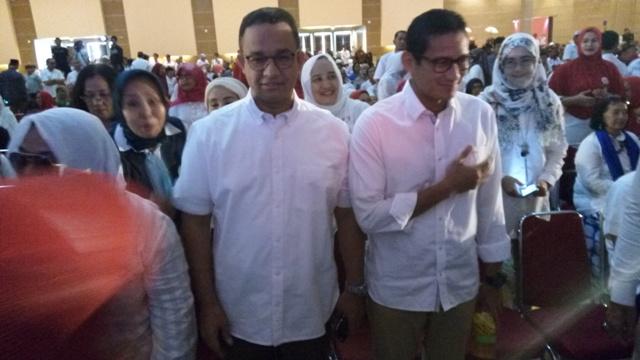 Mantap! Gelar Silaturahmi Akbar, Ketua Timses Larang Relawan Minta Proyek ke Anies-Sandi