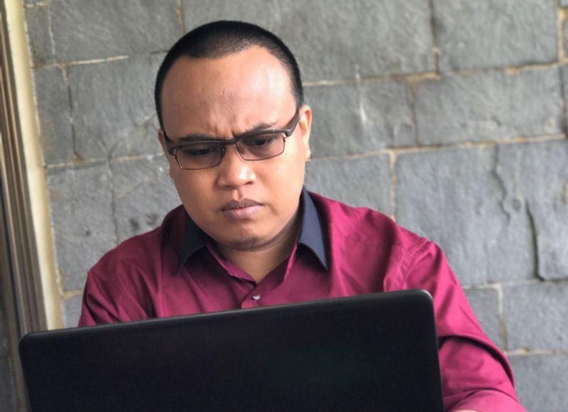 Direktur Eksekutif Socmed Society Fakhruddin Muchtar