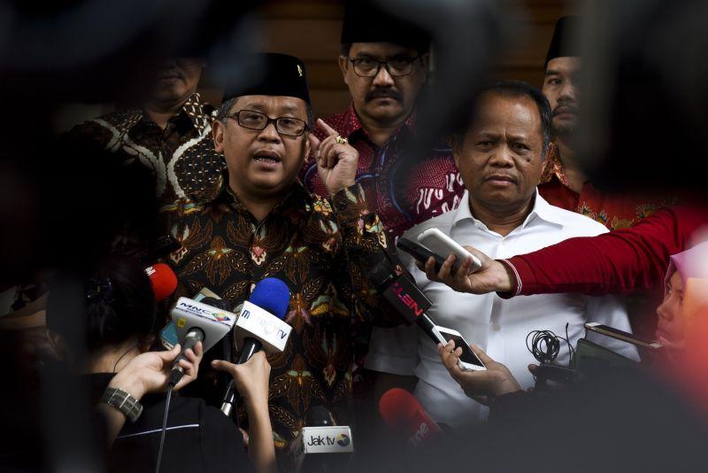 Sekjen PDIP Hasto Kristiyanto (dok. Antara)