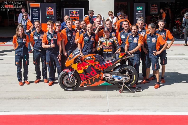 Tampil Impresif di Red Bull Ring dengan Status Wildcard, Test Rider KTM Ingin Reguler Balapan di MotoGP
