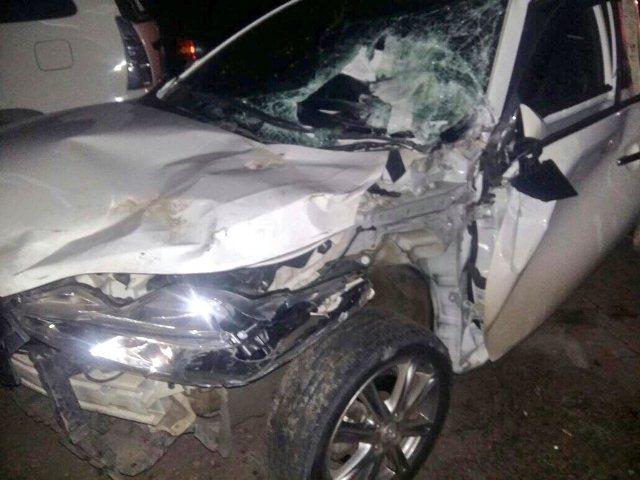 Brakk! 3 Kendaraan Tabrakan di Jakarta Barat