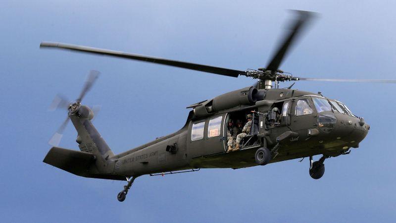 Duh! Helikopter Jatuh ke Laut, Lima Anggota Militer AS Hilang