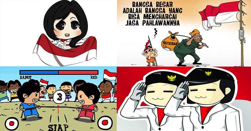 Hari Merdeka Dijamin Ketawa Aneka Meme Komik Lucu Rayakan Hari Kemerdekaan Okezone Techno