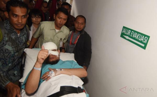 Jalani Operasi Mata di HUT ke-72 RI, Pimpinan KPK Doakan Novel Segera Pulih