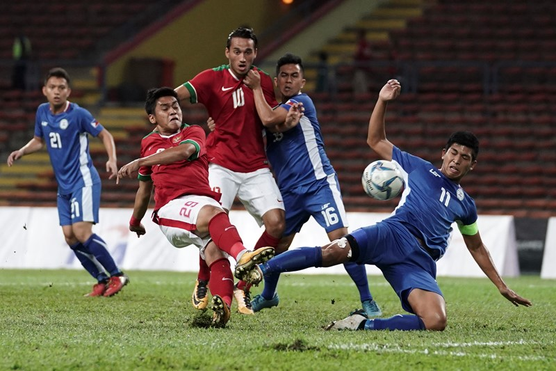 sea games 2017 gol berkelas saddil ramdani bawa indonesia unggul 3 0 dari filipina okezone bola