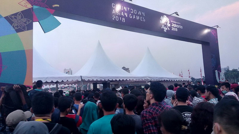jelang countdown asian games 2018 para pengunjung mulai padati kawasan monas BLdv4ciS6c - Countdown Asian Games 2018 Net Tv