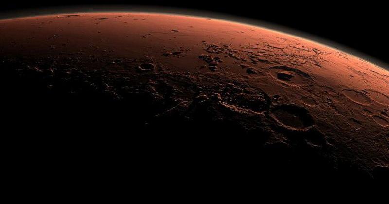 wow peneliti pastikan cadangan air es di planet mars ada nih