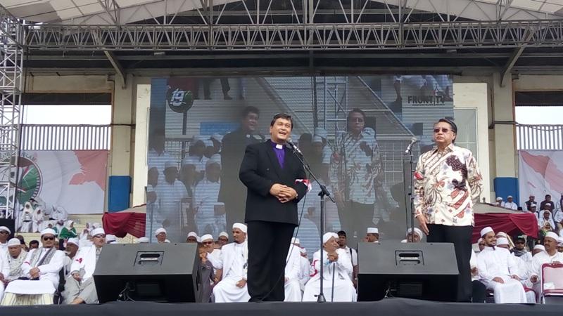Hadiri Milad FPI, Ketua Persekutuan Gereja: Hubungan Kami dengan Habib Rizieq Sangat Baik