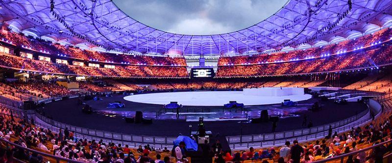 megahnya pembukaan sea games 2017 kontingen indonesia tampil dengan setelan formal Gsvh5GaZgS - Asian Games Pembukaan