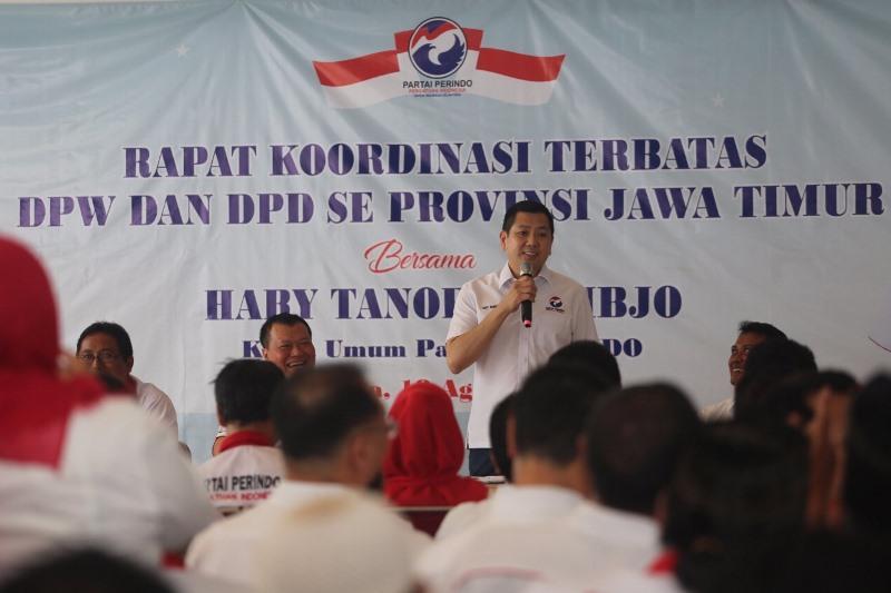 Terungkap! Lawatan ke Jawa Timur, Hary Tanoe Beberkan 2 Alasan Dukung Jokowi Lanjutkan Kepemimpinan 2019-2024