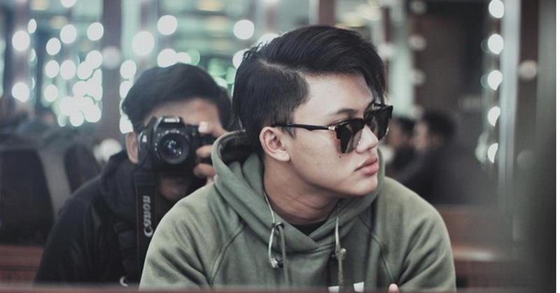 FOTO: Rizky Febian Unggah Pose Cool, Netizen: Gantengnya ...