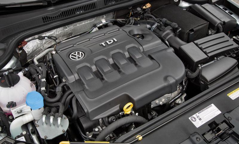 Mesin diesel VW (Carscoops)