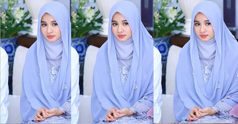 Menebak Gaya Hijab Laudya Cynthia Bella Saat Akad Pernikahan Dengan Engku Emran Okezone Lifestyle