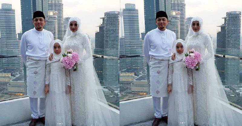 Sah Jadi Suami Istri Busana Akad Nikah Bella Dan Engku Emran