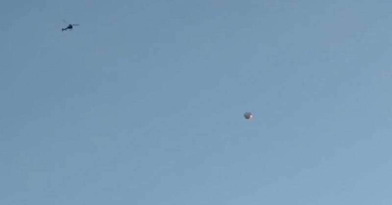 Mengejutkan! Helikopter Polisi Diklaim Mengitari UFO