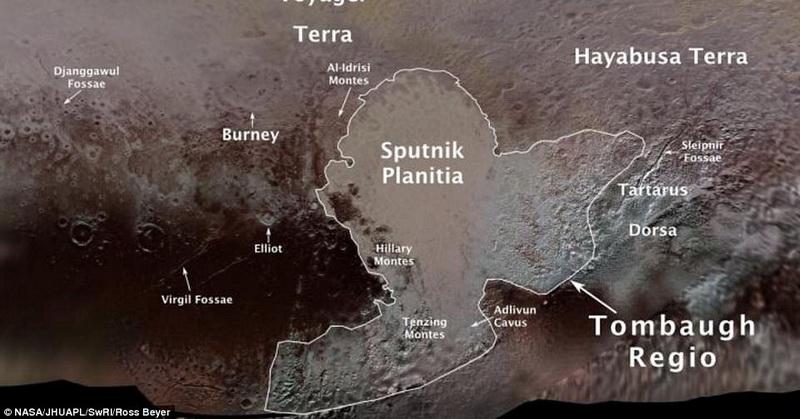 Tanah di Pluto Akhirnya Resmi Miliki Nama, Apa Itu?