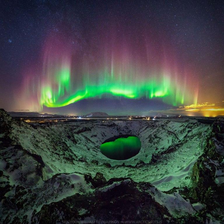 Keren! Aurora Borealis Bikin Cantik Langit Finlandia