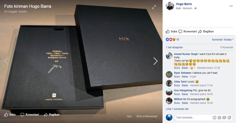 Hugo Barra Pamer Smartphone Tanpa Bingkai, Ada Kejutan Apa?