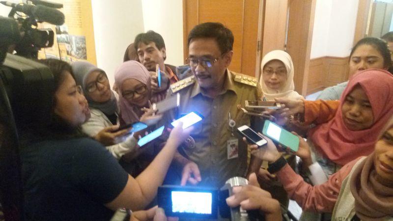 Gubernur DKI Jakarta Saiful Hidayat (Foto: Iqbal/Okezone)