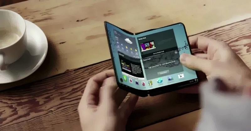 Wih! Hadang iPhone X, Samsung Siapkan Ponsel Lipat di 2018