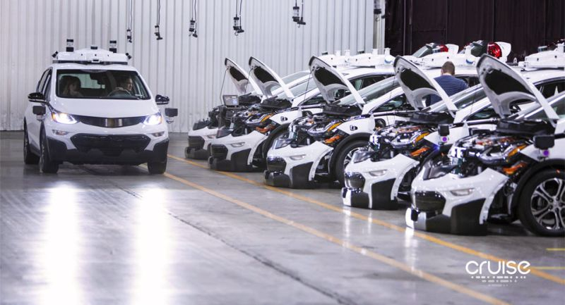 Mobil otonom GM (Carscoops)