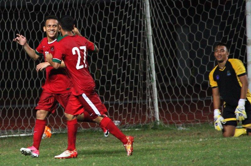 Mantap! Timnas Indonesia Unggul 6-0 dari Brunei, Netizen Gemakan #TimnasDay