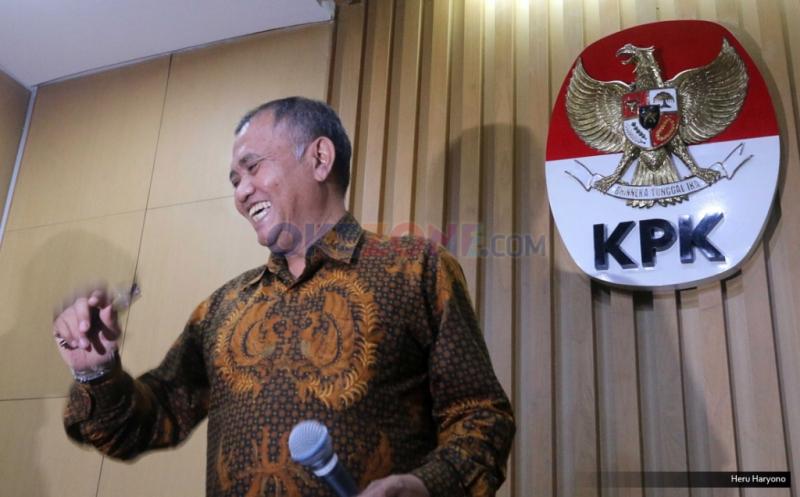 Ketua KPK, Agus Rahardjo (Okezone)