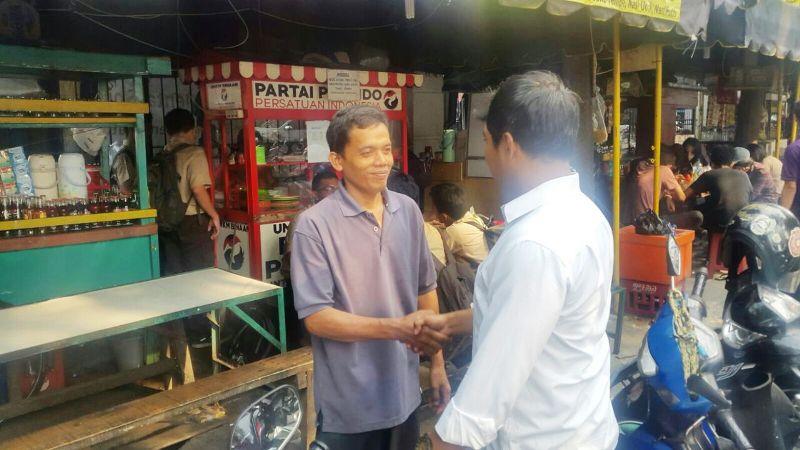 DPP Partai Perindo melakukan monitoring dan pembinaan kepada mitra UMKM di Jakarta Selatan (Foto: Dok. DPP Partai Perindo)