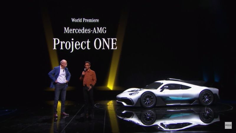 Mercedes-AMG Project One (Reddit)