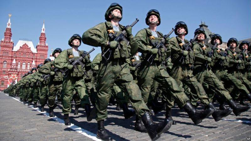 Tentara Rusia. (Foto: VoA)