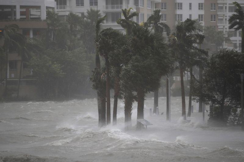 Dampak terjangan Badai Irma di Karibia. (Foto: Getty Images)