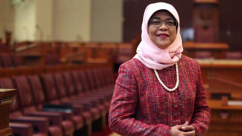 Halimah Yacob. (Foto: The Straits Times)