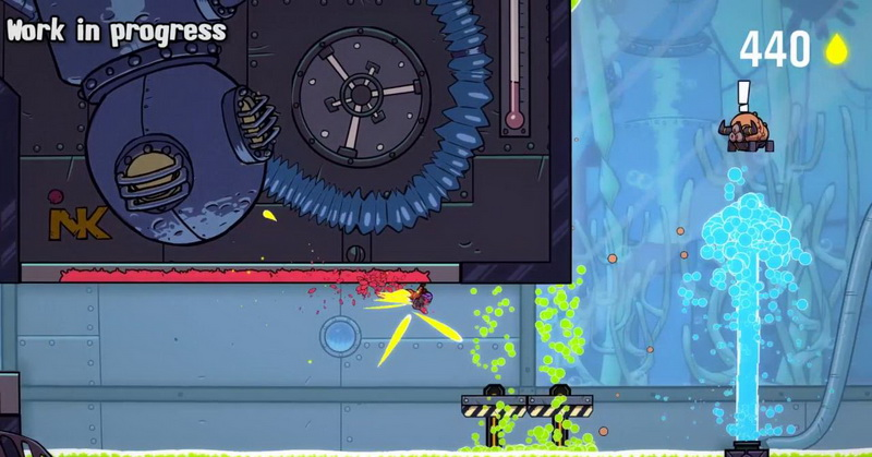 Game Splasher Bakal Meluncur ke PS4 dan Xbox One, Ini Videonya!