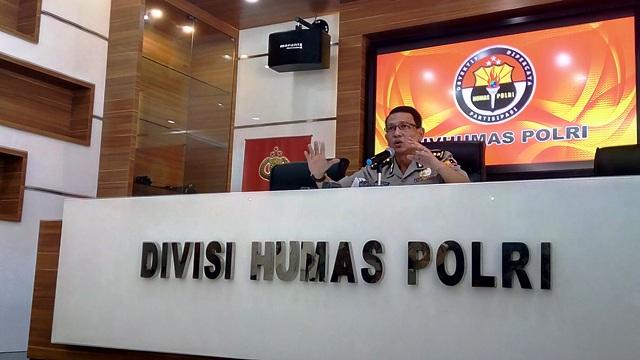 Kabag Penum Divisi Humas Polri, Kombes Martinus (foto: Okezone)
