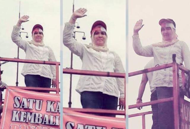 Nah Lho! Polisi Sebut Nama Asma Dewi Ada di Struktur Saracen