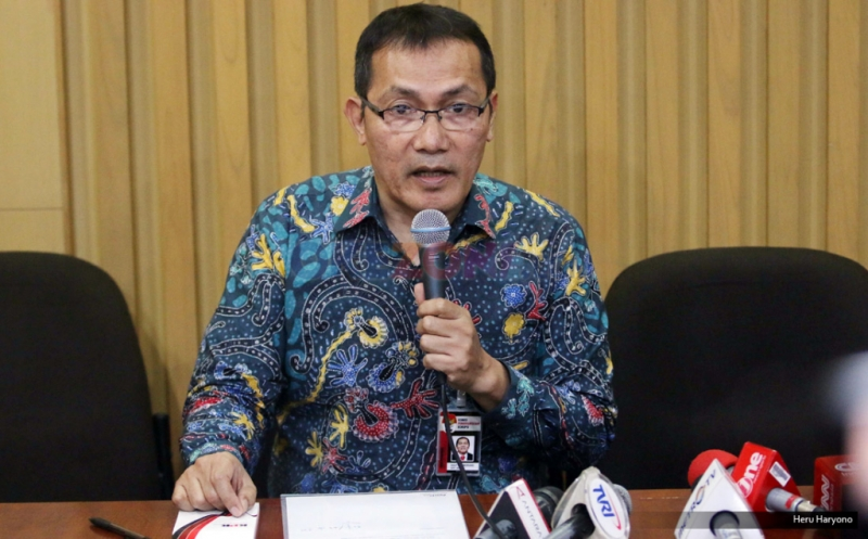 Wakil Ketua KPK Saut Situmorang (Heru/Okezone)
