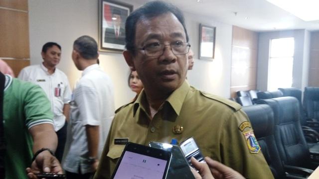 Kepala Dinas Perumahan Rakyat dan Pemukiman DKI Jakarta, Agustino Darmawan (foto: Fadel/Okezone)