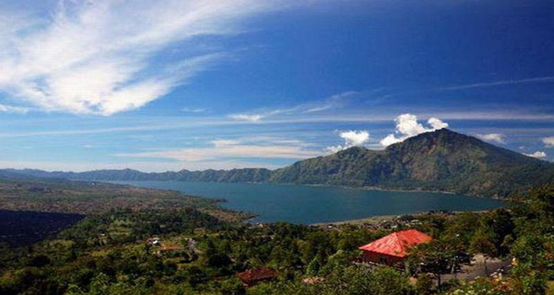 Ilustrasi Gunung Agung (Foto: Ist)