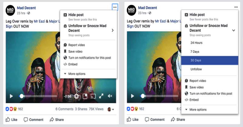 Mantap! Facebook Akan Bungkam Status dan Pemberitahuan Mengganggu