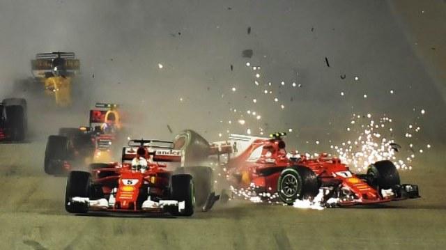 Dituduh sebagai Penyebab Kecelakaan di GP Singapura, Begini Reaksi Keras Raikkonen