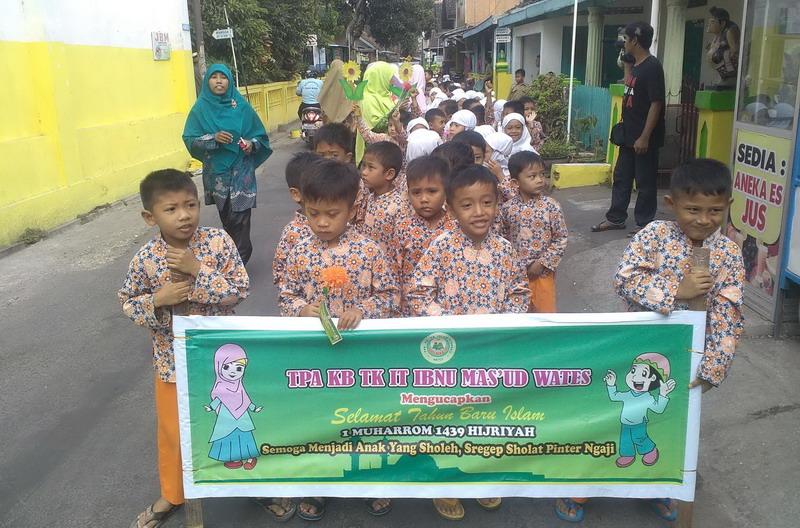 Sambut Tahun Baru Islam Ratusan Anak Tk Di Kulonprogo Pawai Taaruf Okezone News