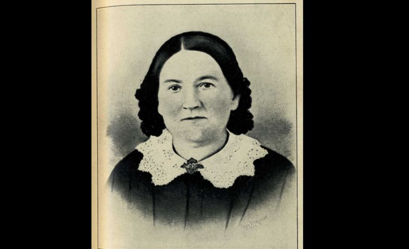 Nancy Elliot Edison, ibunda dari penemu terkenal Thomas Alva Edison. (Foto: Find a Grave)