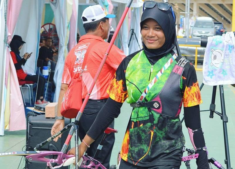 Dianandra Choirunnisa, Atlet Panahan Berbagi Tips Pilih Hijab yang Nyaman untuk Aktivitas Sehari-hari