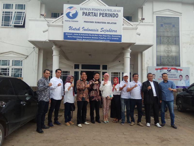 Mantap! Febuar Rahman dan Herman Deru Saling Menjajaki untuk Pilgub Sumsel 2018