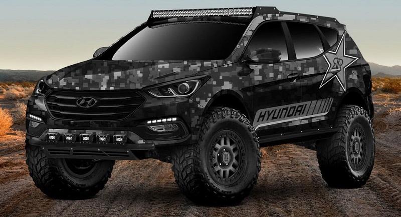 Modifikasi Ekstrim Hyundai Santa Fe Jadi Mobil Offroad Okezone News
